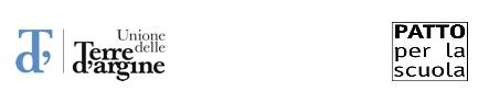 logo UNione Terre d'Argine - Patto per la Scuola