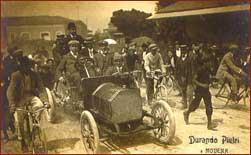 Dorando accolto a Modena 1908