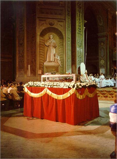 Novembre 1981 spoglie di S. Bernardino in Duomo
