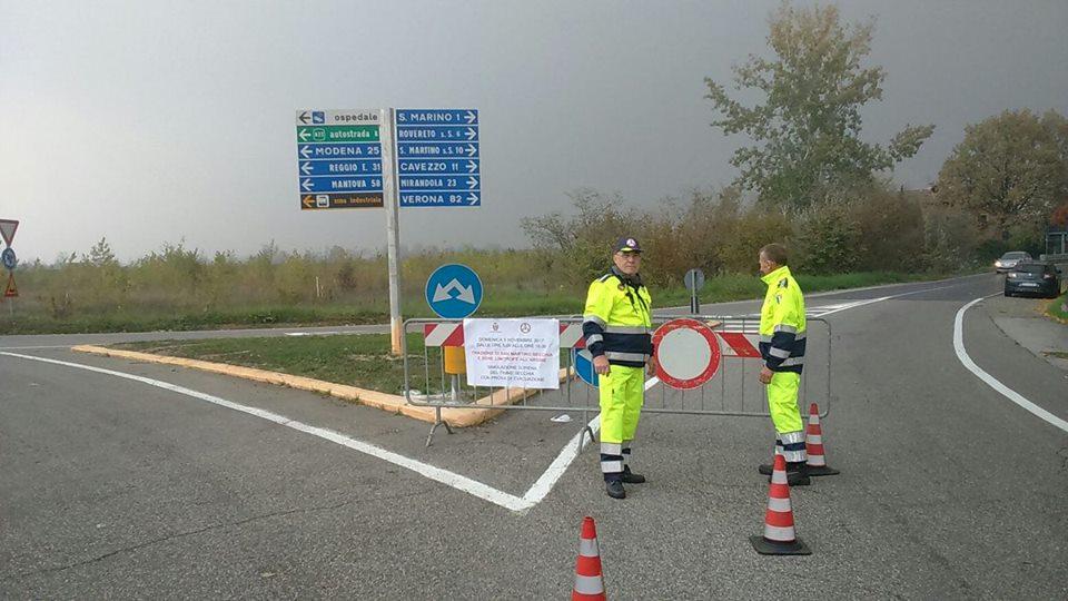 Uomini e mezzi sul posto per 'provare' l'evacuazione della zona